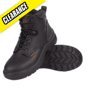 WORKSITE BLACK SAFETY BOOT SIZE 8 PAIR