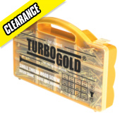 TurboGold Woodscrews Handy Pack 750 Pieces