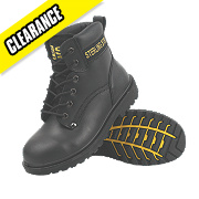 STERLING STEEL SAFETY BOOT BLACK SIZE 8
