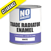 No Nonsense Quick Dry Radiator Enamel White 750ml