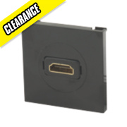 Labgear HDMI Module Black 50 x 50mm