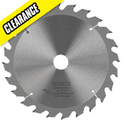 Bosch Circular Saw Blade 235mm 25/30mm Bore 24T