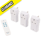 Siemens Basic Remote On/Off Socket Kit with Li-Ion Powered Remote Control