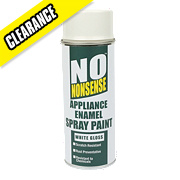 No Nonsense Appliance Enamel Spray Paint Gloss White 400ml