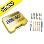 TurboGold Exclusive Drill Bits in a Metal Case 71Pcs