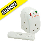 Masterplug Surge Protected Remote Controlled Adaptor 3G 240V