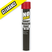No Nonsense Survey Marking Paint Red 750ml