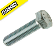 Set Screws M20 x 50mm Pack of 25