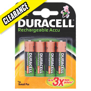 Duracell AA Rechargeable Batteries Pack of 4