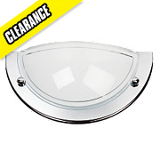 White & Chrome 60W 240V