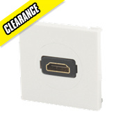 Labgear HDMI Module White 50 x 50mm
