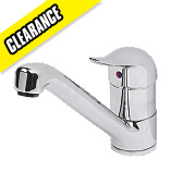 Moretti Flare Sink Mounted Mono Mixer Tap Chrome