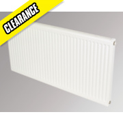 Flomasta Type 11 Single Panel Single Convector Radiator White 500 x 1100mm