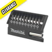 Makita 11Pc Screwdriver Bit Set