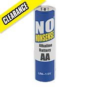 No Nonsense Alkaline Batteries AA 1.5V 4+4 Free