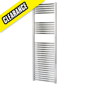 Kudox Flat Towel Radiator Chrome 1500 x 500mm 464W 1583Btu