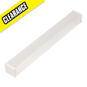 Thorn W Clear Pop Pack Diffuser Batten Accessory Pack of 2