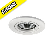 JCC Lighting Designs Fixed Round Fire Rated Recessed Downlight White 240V