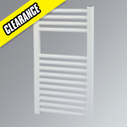 Kudox Flat Towel Radiator White 700 x 400mm 259W 884Btu