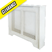 Victorian Radiator Cabinet Small White 1020 x 210 x 868mm