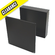Appleby Black Adaptable Box with Knockouts 300 x 300 x 75mm