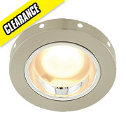 Respingo Mains LED Surround Bathroom Downlight Satin Nickel 240V