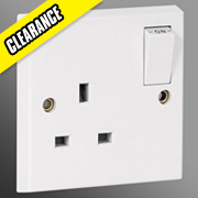 Volex 13A 1-Gang DP Switched Socket