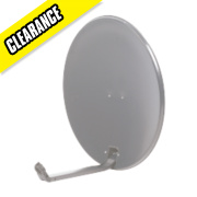 Satellite Dish Grey 60cm