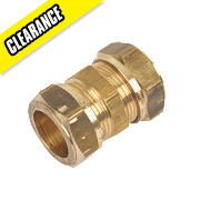 Yorkshire Kuterlite Straight Coupling 610 22mm Pack of 5