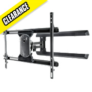 Vivanco Large Single Arm TV Mount Swivel & Tilt 40-65""