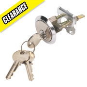 Sterling Night Latch Cylinder Chrome mm