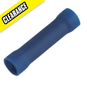 Crimp Ebb Insulated Blue Butt Pack of 100