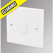 Marbo 1-Gang 2-Way 10AX Light Switch White