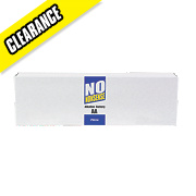 No Nonsense Alkaline Batteries AA Pack of 24