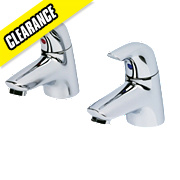 Ideal Standard Ceraplan Bath Pillar Taps Pair