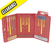 Starrett BU6 Assorted Jigsaw Blade Wallet 14 Piece Set