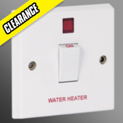 Volex 20A DP Switch & Neon Water Heater