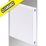 Flomasta Type 21 Double Panel Single Convector Radiator White 500 x 500mm
