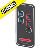 Siemens Socket Locker Remote Control with Li-Ion Power Black