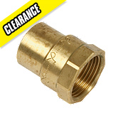 Yorkshire Solder Ring Female Coupler YP2 22mm x ¾""