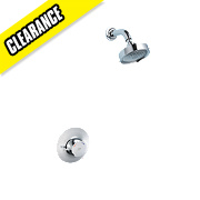 Mira Discovery Thermostatic Mixer Shower Fixed Built-In Chrome