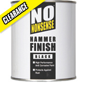 No Nonsense Hammered Black 750ml