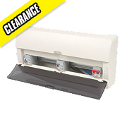 Legrand 16-Way fully insulated Dual RCD Consumer Unit
