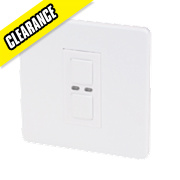1-Gang 1-Way Dimmer Switch White 250W