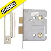 Carlisle Brass Easi-T Bathroom Lock Nickel-Plated 22 x 76mm