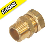 Yorkshire Kuterlite Male Coupler 611 22mm x ¾""