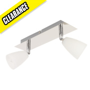 Cento 2-Light Spotlight Chrome