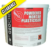 Geocel Powdered Mortar Plasticiser 200 x 15g Sachets