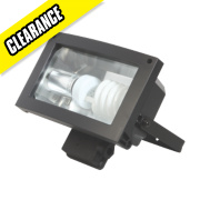 Energy Saving CFL Floodlight 23W Black 1300Lm