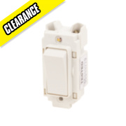 Crabtree 10AX 1-Way Switch